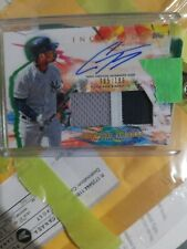 2020 Topps Inception Gleyber Torres Patch Auto 65/186