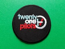 PUNK ROCK HEAVY METAL MUSIC SEW / IRON ON PATCH:- TWENTY ONE PILOTS (a)
