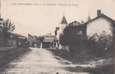 CORGENON Tramway dans le contours à l'entrée du pays Chemin de fer train Ain 01