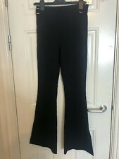 Urban Outfitters Kick Flared Trousers Silver Buckle Pocket Detail S BNWT £46