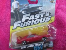 FAST AND FURIOUS DODGE CHARGER DAYTONA 1969 NEW ON CARD 1/55