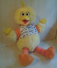 "Vintage 1996 Big Bird Sesame Street Talking Laughing 17"" Plush"