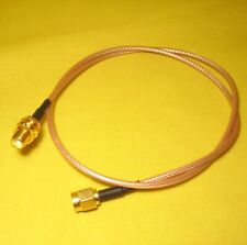 SMA female Bulkhead Pigtail Cable to SMA male 300mm Coaxial Fly Lead RG316 AC