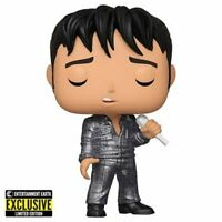 Funko Pop! Elvis Presley 1968 Comeback Diamond/EE Exclusive