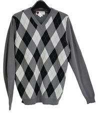 NWT iliac golf Bert LaMar Gray Sweater Long Sleeves Size L
