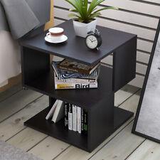 2 Cube Coffee Tea Sofa Side End Storage Desk Shelves Bedside Table Furniture UK