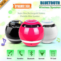 Portable Super Bass Mini Bluetooth Wireless Speaker For SmartPhone Tablet PC UK