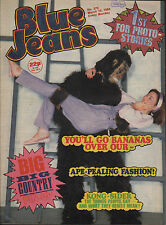 Blue Jeans Magazine 10 March 1984 No. 373  B ig Country  Paul Young  David Grant