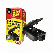 Rat & Mouse Bait Station STV179 The Big Cheese  Pack Of 3 Stations