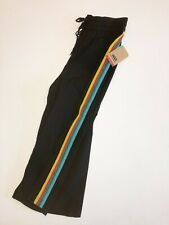 Vans New Spark Dust Crop Glitter Rainbow Pants Women's Size Small Black