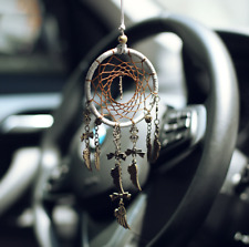 Traditional Handmade Dream Catcher Tree of Life Pendant Car Charm MLDC 16