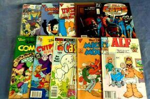 Lot of 100 Archie,Disney,Marvel, TMNT,Thundercats, ETC  Comic  Books L60