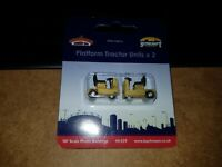 OO Gauge Bachmann 44-539 Platform Tractor Units (2pk)