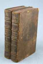 VIGNEUL MARVILLE Mélanges d'Histoire et de Littérature 1725 Prudhomme 2 volumes