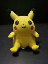 "1998 Hasbro Yellow Pikachu Pokemon 8"" Plush Toy #25 Nintendo"