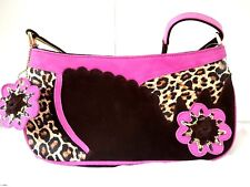 fceb216efd Russell   Bromley Beverly Feldman STUNNING Animal Print Shoulder Leather Bag