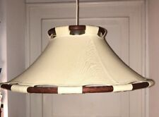 LYKTAN-ANNA EHRNER danisch teak schweden vintage 60er 70er sehr große Lampe