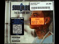 Soulja Boy - The DeAndre Way USA CD Sealed EXPLICIT