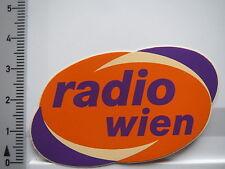 Aufkleber Sticker Radio Wien - Rundfunk - UKW (6413)