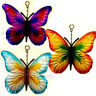 Hanging Metal BUTTERFLY Garden Wall Fence Outdoor Decoration Sign Butterflies