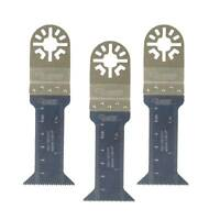 10 x TopsTools FA44L/_10 44mm Long Wood Fast Fit Blades Compatible with Dewalt Stanley Black and Decker Bosch Fein Makita Milwaukee Parkside Worx Workzone Multitool Accessories Non-StarLock