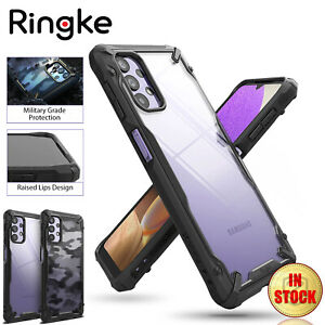 For Samsung Galaxy A32 5G Case RINGKE FUSION X Heavy Duty Shockproof Cover