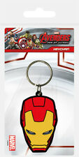 Marvel Comics Avengers Age of Ultron Iron Man Rubber Keychain Keyring