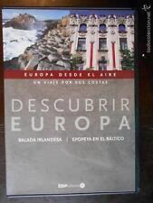 DVD DESCUBRIR EUROPA - EUROPA DESDE EL AIRE UN VIAJE POR SUS COSTAS - COMO NUEVO