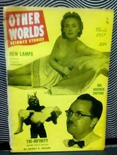 New ListingOther Worlds Mr. Science Fiction Forrest J. Ackerman March 1957 Stories Monsters