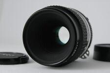 [Exc+++++] Nikon Ai-s Micro Nikkor 55mm f2.8 Macro MF Lens from JAPAN D57
