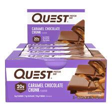 Quest Protein Bar Caramel Chocolate Chunk 60g X 12
