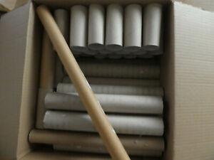 54 leere Küchenrollen - WC Papprollen - Rohr/Rolle/Pappe - zum basteln/für Tiere