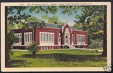 America Postcard - Carl Augustus Rudisill Library, Lenoir Ryne College  BR436