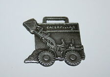Vintage CAT Caterpillar Tractor Tin Front Loader Advertising Watch FOB 1970s NOS