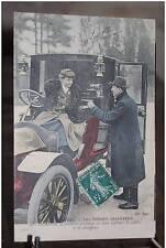 PARIS Mme Decourcelle la première possédant ses deux diplômes cochère chauffeuse