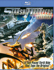 Starship Troopers: Invasion (Blu-ray Disc, 2012) *Disc Only-NO CASE *Free Ship ""