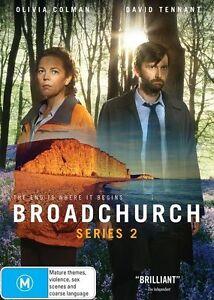 Broadchurch: Series 2 (DVD, 3 Discs) Region 4 - Very Good Condition