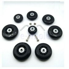 Replacement Luggage Wheels Suitcase Spare Repair Wheels OD 45mm for bags TW