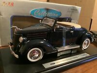 1936 ford deluxe cabriolet  1/18 DIECAST MODEL CAR WELLY