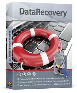 DataRecovery - Vollständige Wiederherstellung von über 550 Dateiformaten - PC