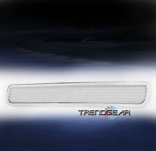 2011-2014 CHEVY SILVERADO 2500 3500 HD BUMPER STAINLESS STEEL MESH GRILLE CHROME