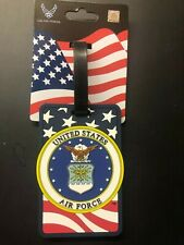 United States Air Force Luggage Tag Military