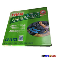 FRAM Fresh Breeze CF11173 1 PACK Cabin Air Filter with Arm & Hammer