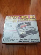 CHICAGO ELECTRIC POWER TOOLS ROTARY TOOL KIT WITH 60 ACCESSORIES MODEL 41695