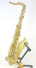 Saxophone Ténor Advances T800VB série RJ, cuivre rose verni brossé gravé, neuf.