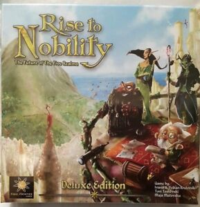 NEW Rise Of Nobility - The Future Of The Five Realms Board Game Deluxe Edition