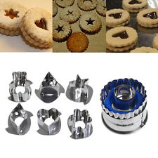 7 Pcs Cookie Cake Mold Cutter Dough Home Kitchen Cooking Mold Vegetable Cutters