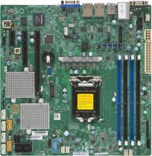 Supermicro X11SSL-CF Motherboard microATX Xeon E3-1200 C232 FULL WARRANTY
