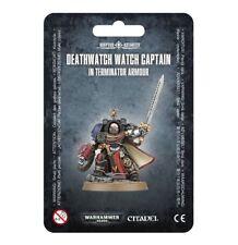 Deathwatch Watch Captain in Terminator Armor Warhammer 40K NIB Flipside