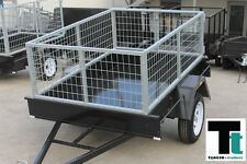 6x4 CAGE TRAILER - 2FT GALVANIZED CAGE – 600kg GVM – BARN DOORS - DROP TAILGATE